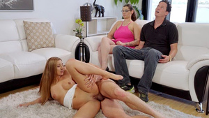 Stepbrother Fuck Stepsister Moka Mora While Her Mom And Dad Hypnotized