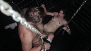 Teen Ena Sweet Passionate Straight Fuck In A Gay Club!