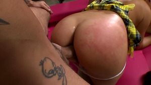 Teen MILF threesome with Billie Star and adorable Russian Latoya!