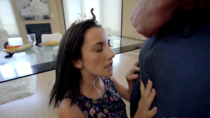 Step daughter punished by father in free xxx porn videos with sexy Jade Amber!