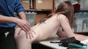 LP officer fuck young Gracie May Green for her freedom in free girl porn!