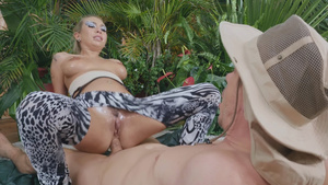 Ass Safari with Kat Dior assfucking!