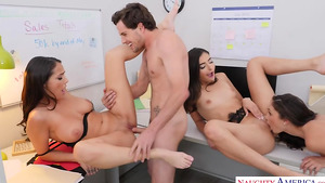 Office girls fucking - Ariana Marie, Emily Willis, Sofi Ryan in nude bitches porn!