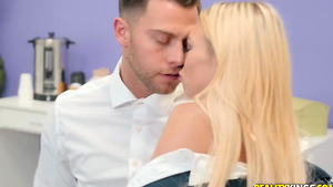 Office Intern Zoe Clark gets pussy licking and makes blowjob!