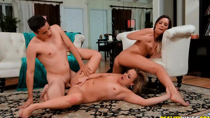 Stepmom porn with her stepdaughter's BF - mom Tucker Pierce fucked doggystyle!