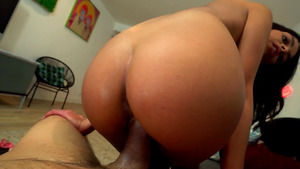 Tight pussy sister Vienna Black rides her stepbrother's cock!