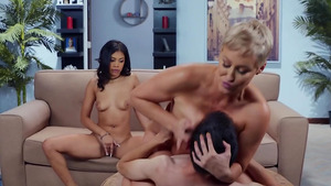 MILF Ryan Keely fucks with tenagers Jordi El Nino and Jeni Angel!