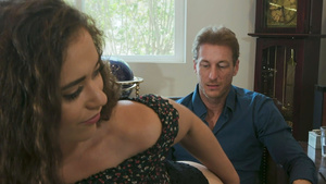 Stepdaughter Ziggy Star anal seduction her stepfather!