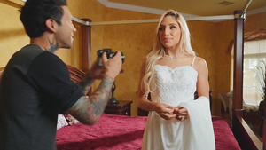 Just married Abella Danger fucks with photographer!