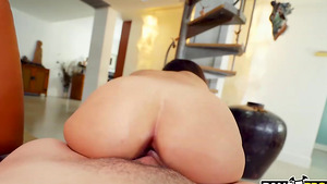 Step brother Johnny The Kid fuck sister Kira Perez reverse cowgirl!