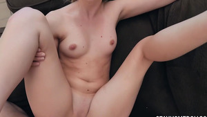 I'm plowing my stepdaughter Kenna James girl's pussy!