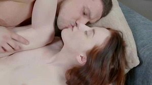 Tiny redhead girl Lottie Magne loves to fuck with orgasm.