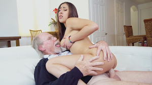 Teen Kira Perez fucks with grandfather young porn tube